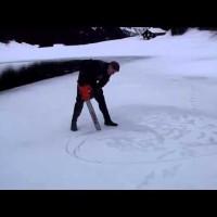 Eistauchen Arnisee 2012